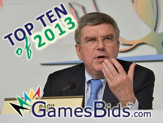 Top Olympic Bid Stories of 2013: #1 Thomas Bach Elected President of IOC