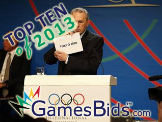 Top Olympic Bid Stories of 2013: #2 Tokyo Wins 2020 Olympic Games Bid