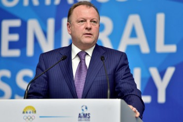 Full text of the opening address of SportAccord President Marius L. Vizer at the SportAccord Convention