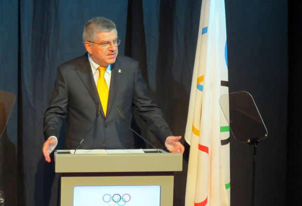 IOC Chief Thomas Bach Expects 2024 Olympic Bid from United States