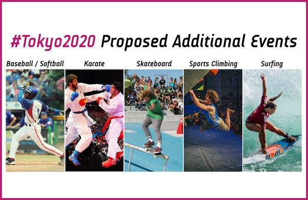 Five New Sports Recommended For Tokyo 2020