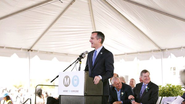 LA's New Metro Rail Expo Line Helps Solidify 2024 Olympic Games Concept