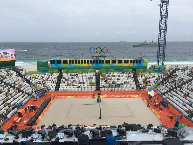 Rio 2016 Has Its Heart and Soul On Copacabana Beach