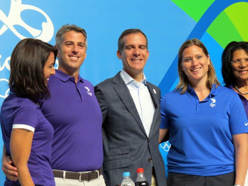 "Mayor Garcetti:  LA 2024 Olympic Bid ""Does Not Depend On Any Election"""