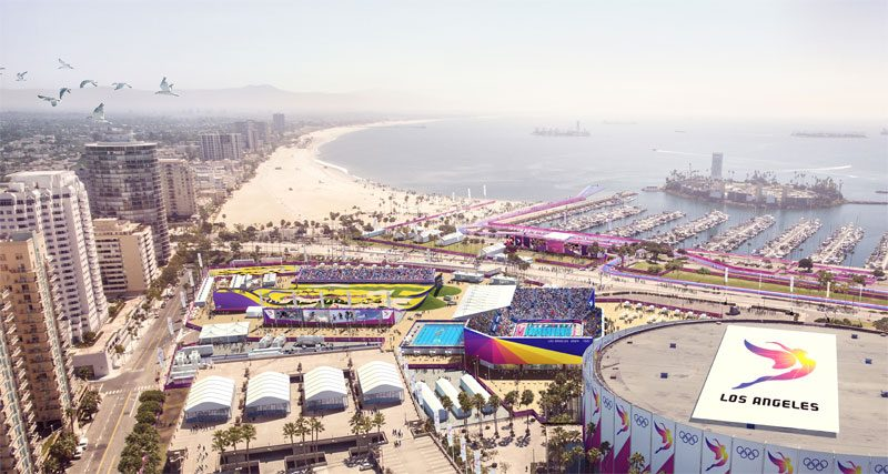 LA 2024 Olympic Bid Adjusts Venue Plan Ahead of Next Bid Book Deadline