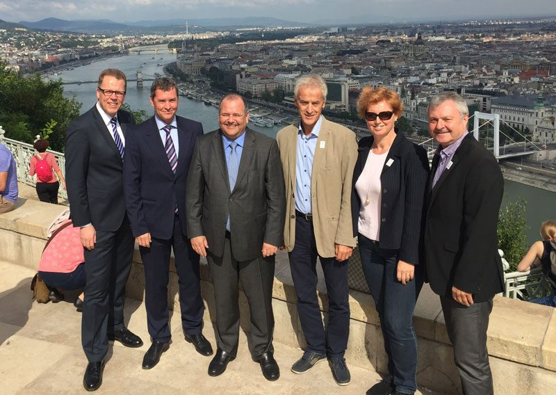 """Budapest 2024 Claims Visiting Federations Say City """"An Ideal Environment for an Olympic Games"""""""