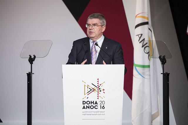 """Trump Calls IOC President Bach To """"Express Strong Support"""" For LA 2024 Olympic Bid"""