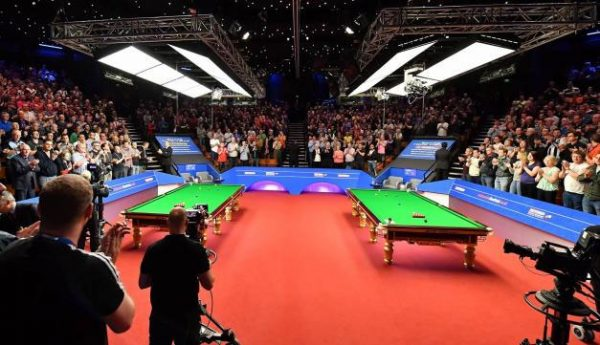 The 2016 Betfred Snooker World Championships in Sheffield (WPBSA Photo)