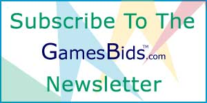 Sign Up For GamesBids.com Newsletter